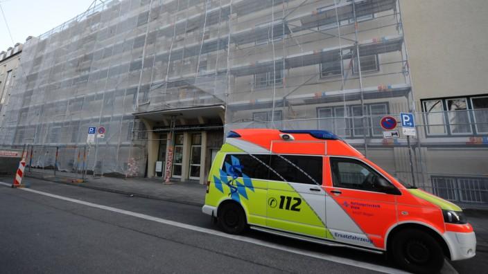 Pflegeheim in München wegen Corona-Virus unter Quarantäne, 2020