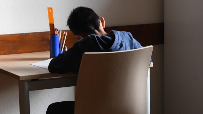 Schule: Hausaufgabenbetreuung in der Bayernkaserne in München, 2019