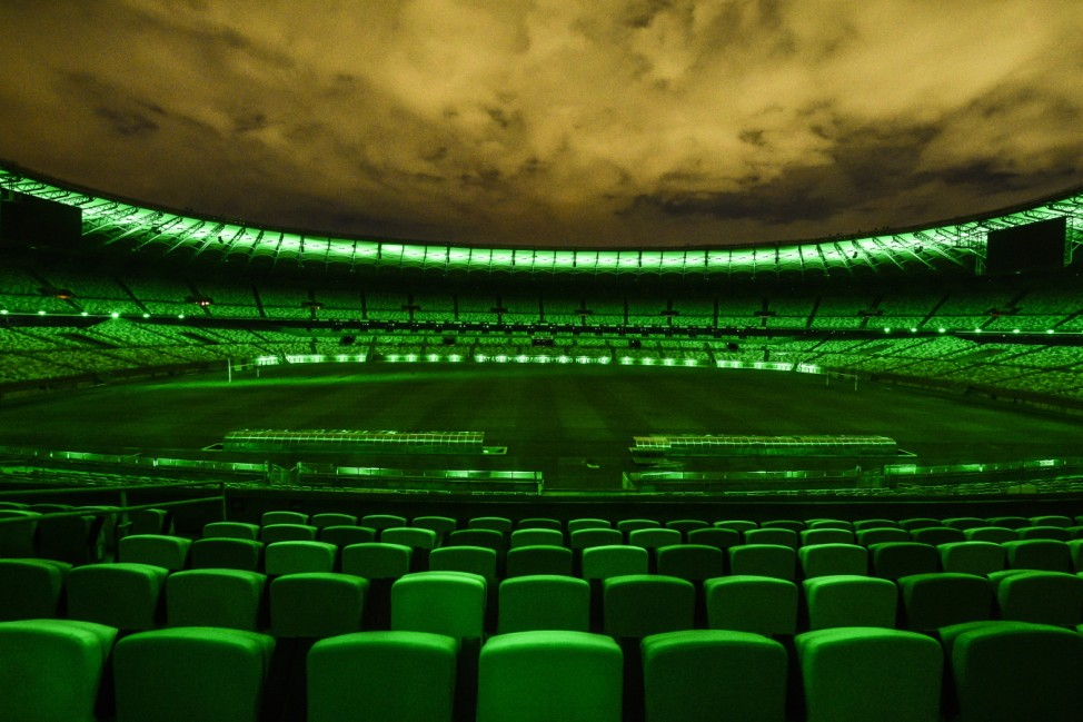 Mineirao Stadium to be Lit Up in Green, the Color of Hope, as a Thank You to all Professionals Involved in the Effort to Minimize the Spread of the Coronoavirus (COVID-19) Pandemic
