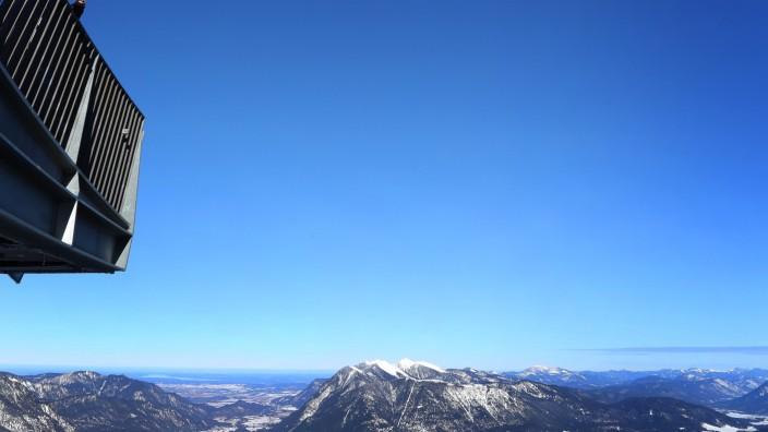 Sonnige Aussichten in den Bergen