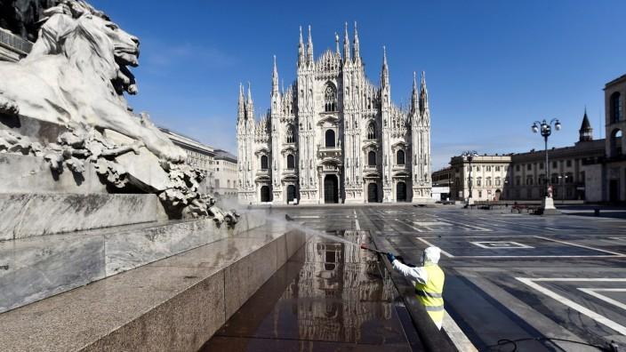 Coronavirus disease (COVID-19) outbreak in Milan