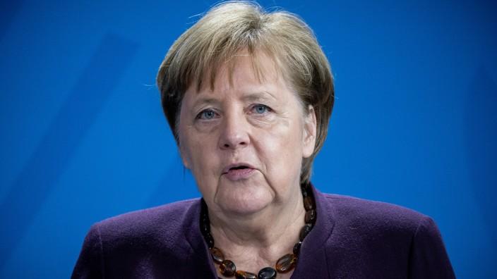 Merkel nach Corona-Quarantäne zurück im Kanzleramt