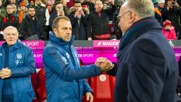 Fußball: 1. Bundesliga 11. Spieltag, FC Bayern München - Borussia Dortmund am 09.11.2019 im Allianz Arena in München. (B; Flick