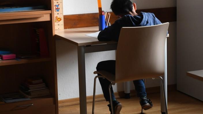 Hausaufgabenbetreuung in der Bayernkaserne in München, 2019