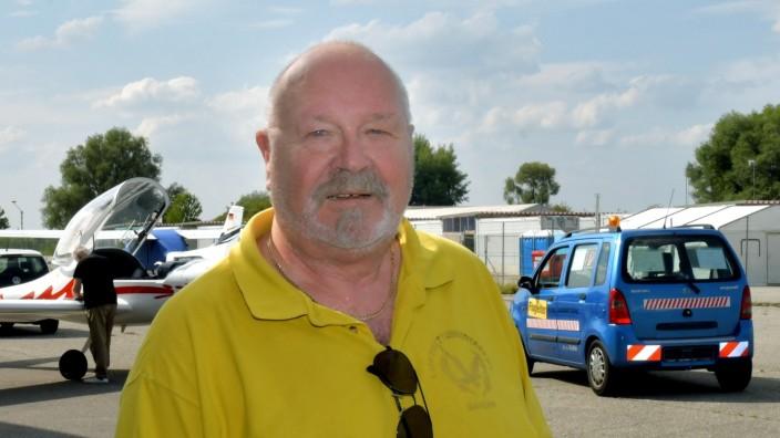 Karlheinz Ruhland von der Luftrettungsstaffel in Erding, 2019