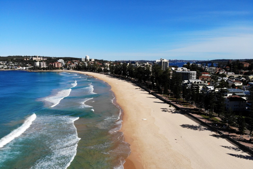 Manly Beach Closed After Crowds Gathered Despite Social Distancing Rules