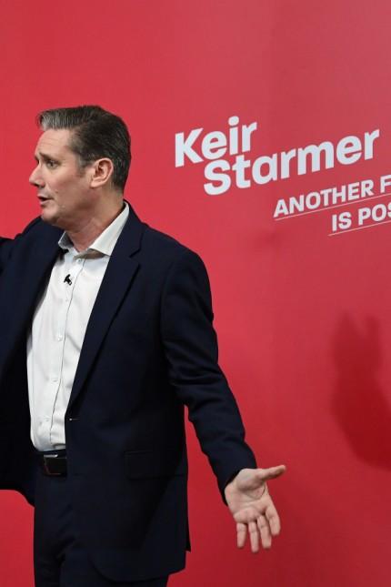 Labour-Partei Großbritannien - Keir Starmer
