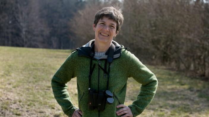 Sophia Engel, Landesbund für Vogelschutz, Grünspecht