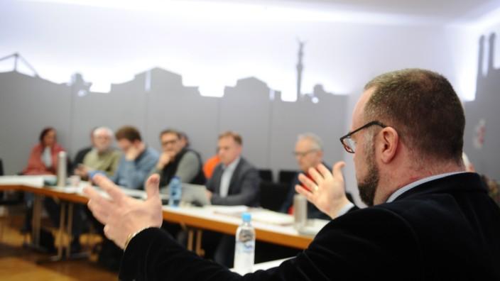 Bezirksausschuss-Sitzung Maxvorstadt