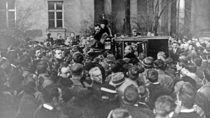 Beerdigung Kurt Eisner, 1919