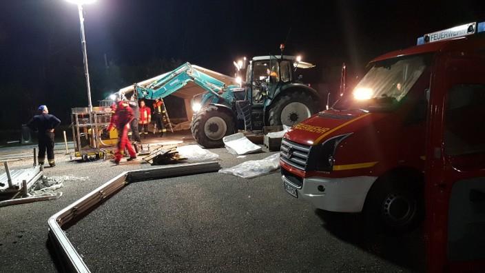 Feuerwehr im coronaeinsatz