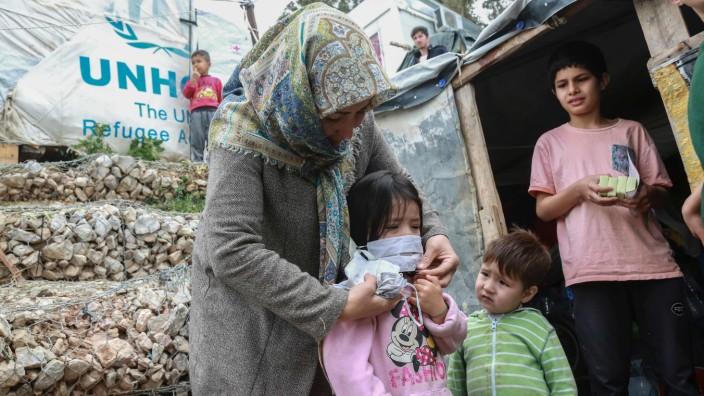 Flüchtlinge, Moria, Griechenland, Coronavirus