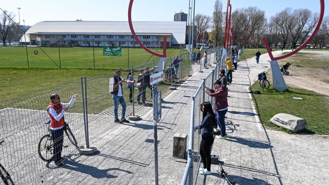 Corona: Grenze zwischen Deutschland und Schweiz