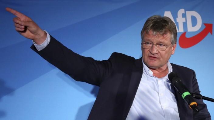 """Aufspaltungsvorschlag: Jörg Meuthen gesteht laut AfD-Parteivorstand, einen """"schweren Fehler"""" gemacht zu haben."""