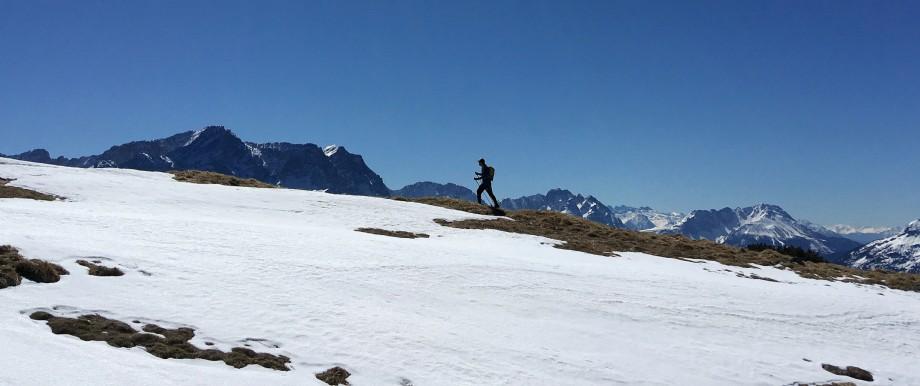 Mountaineering Ammergäu Alps Coronavirus Exit restriction Excursion mountain hike