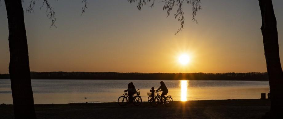 Sunset at the Rangsdorfer See