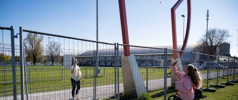 Double Fence Now Separates Lovers During Coronavirus Crisis At German-Swiss Border