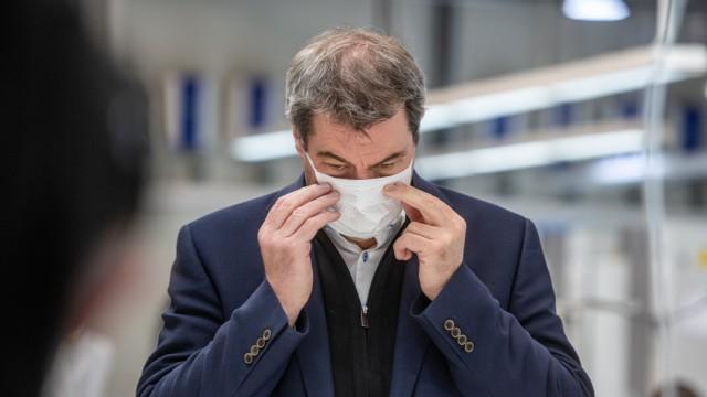 Coronavirus - Automobilzulieferer produziert Mundschutzmasken