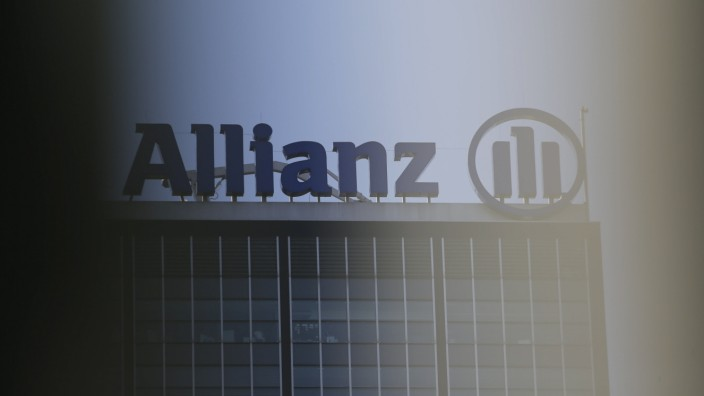 Gebäude der Allianz Berlin Zentrale in berliner Ortsteil Alt-Treptow am 19.09.2018 *** Allianz Berlin headquarters build