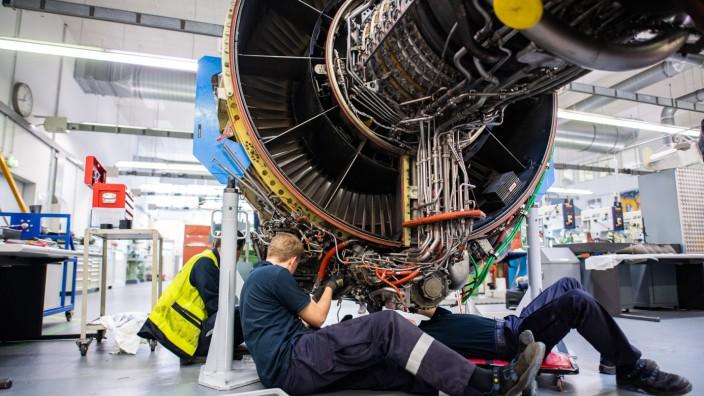 Lufthansa Technik - Werkstatt