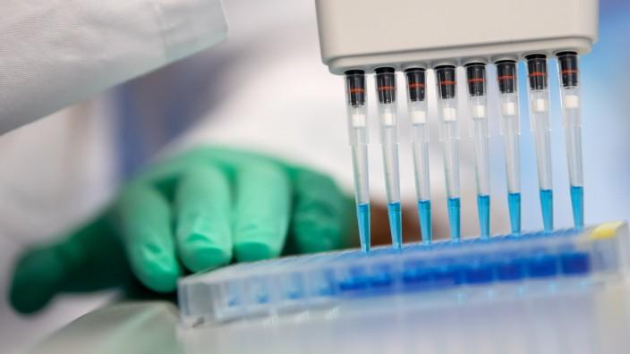 Coronavirus - Corona-Bluttests in München