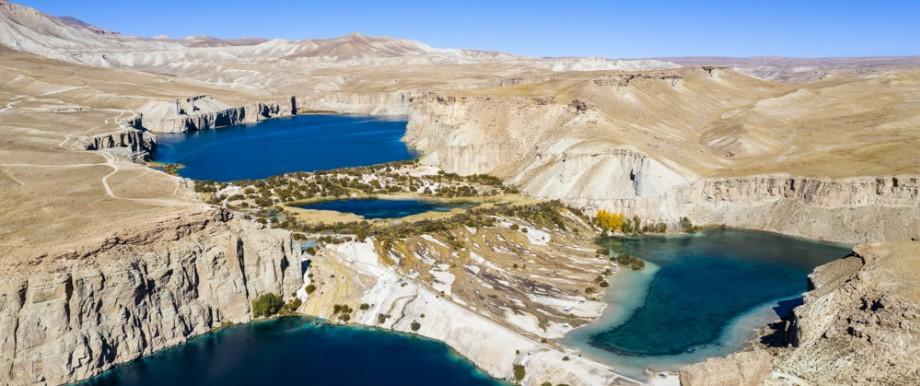 Reisefotograf Michael Runkel: Die Seenkette von Band-e-Amir im gleichnamigen Nationalpark, Afghanistan.