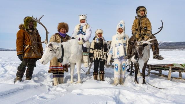 Reisefotograf Michael Runkel: Rentierzüchter in Russland - Leben unter frostigsten Umständen.