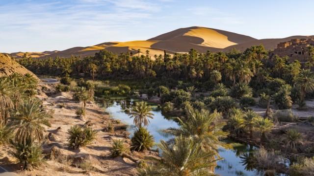 Reisefotograf Michael Runkel: Die Oase Taghit im Westen Algeriens - in Wüsten zieht es Fotograf Runkel regelmäßig.