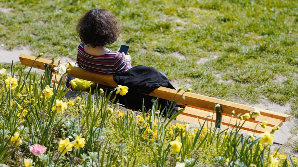 Corona in Bayern: Lesen auf der Parkbank doch erlaubt