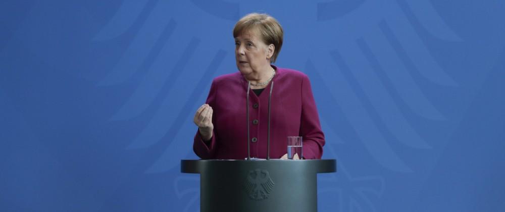 Coronavirus - Bundeskanzlerin Angela Merkel