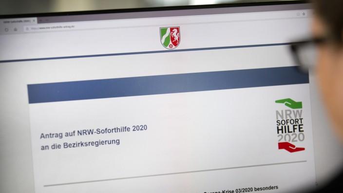 Betrug um Soforthilfe: Behörden wollen Fake-Seiten beschlagnahmen