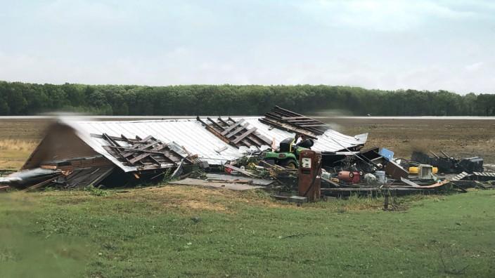 Drei Tote bei Tornado im US-Bundesstaat Mississippi