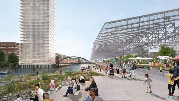 Grassbrook Hamburg Architekturwettbewerb
