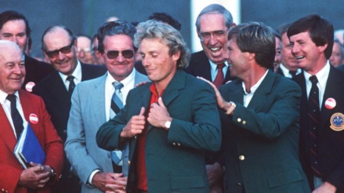 bernhard langer wins 'green jacket'