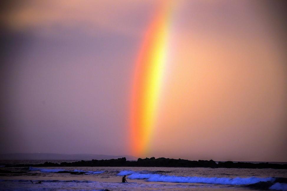 Regensbogen in Australien