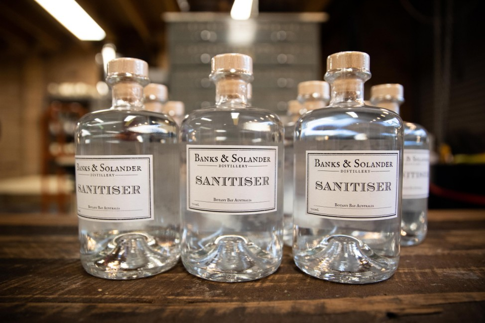 Brewers And Distillers Turn To Making Hand Sanitiser To Meet Global Demand Due To Coronavirus