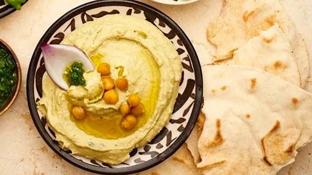 Das Rezept klassische Hummus-Kichererbsencreme nach Originalrezept aus Jerusalem von Hans Gerlach