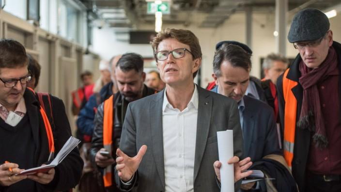 Verkehr BER Engelbert Luetke Daldrup Der Vorsitzende der Geschaeftsführung der Flughafen Berlin Brandenburg GmbH, Prof.