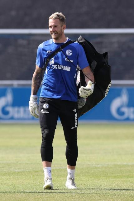01.07.2019, Fussball, Saison 2019/2020, Bundesliga, Training FC Schalke 04 Ralf Fährmann (FC Schalke 04) Gelsenkirchen