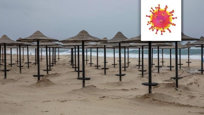 """Serie """"Welt im Fieber"""" - Ägypten: Ägypten lebt vom Tourismus - in den Badeorten am Roten Meer und an den Pyramiden. Aber so bald wird niemand kommen. Stattdessen bleiben die Strände leer."""