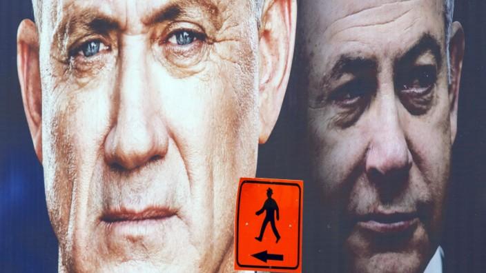 Israel Gantz Netanjahu