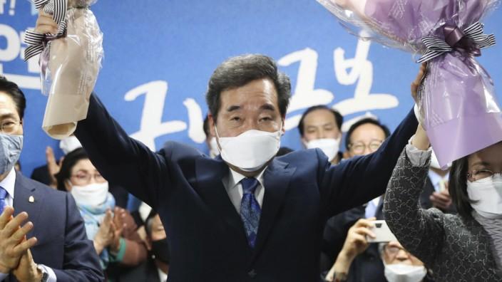 Südkoreas Regierungspartei bei Parlamentswahl mit Sieg