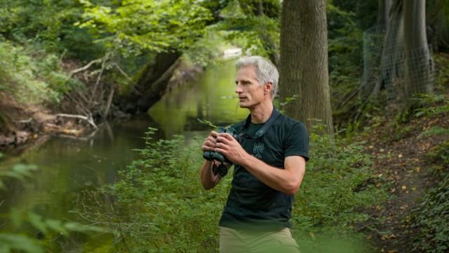Martin Hänsel vom Bund Naturschutz in München, 2018