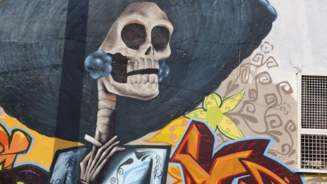 Wandgemälde in Mexiko