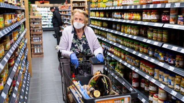 Coronavirus · Supermarkt