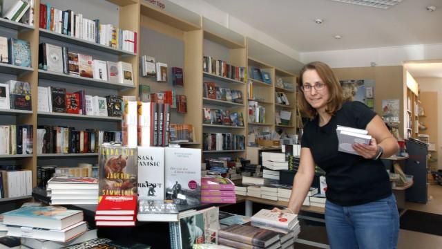 Buchhändlerin Karina Trübner