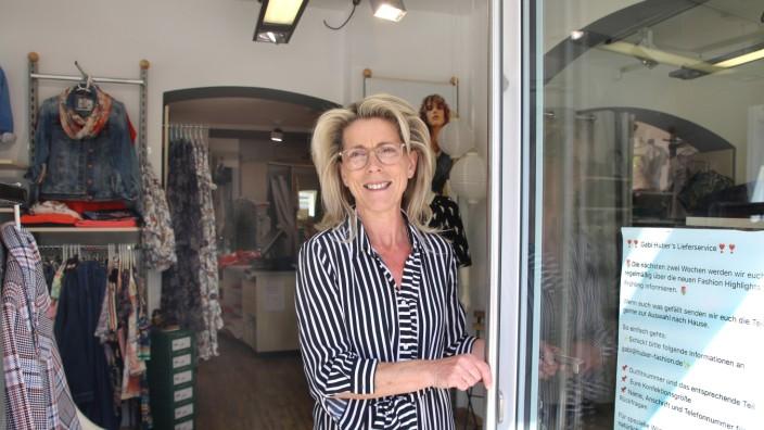 Boutiquebesitzerin Gabi Huber
