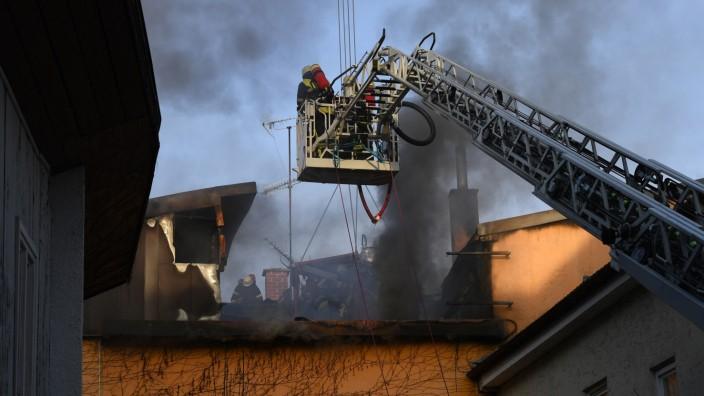 Millionenschaden nach Brand in Murnau