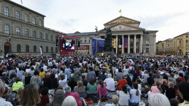 """""""Oper für alle"""" in München, 2019"""