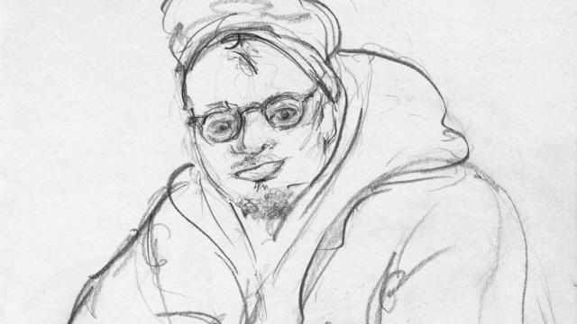 """Sabine Roidl Künstlerin aus Grafing Projekt """"Ohne Dach, ohne Ofen, ohne Bett"""" Buch und Ausstellung über Obdachlose in München Texte und Zeichnungen"""